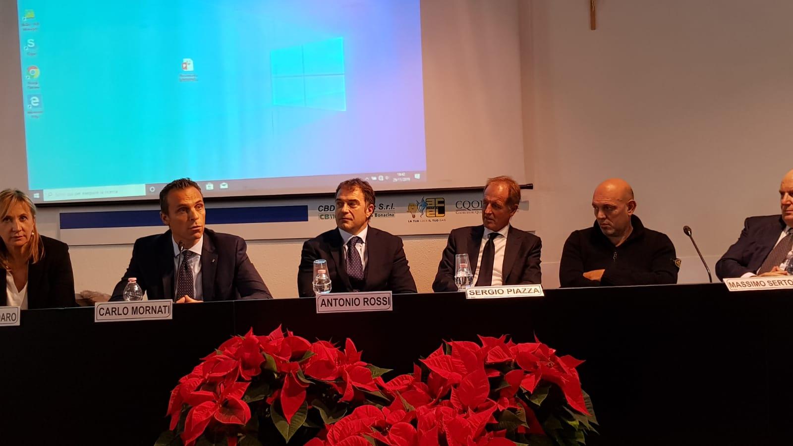 Rossi e Sertori ad assemblea ANCE Sondrio-Lecco