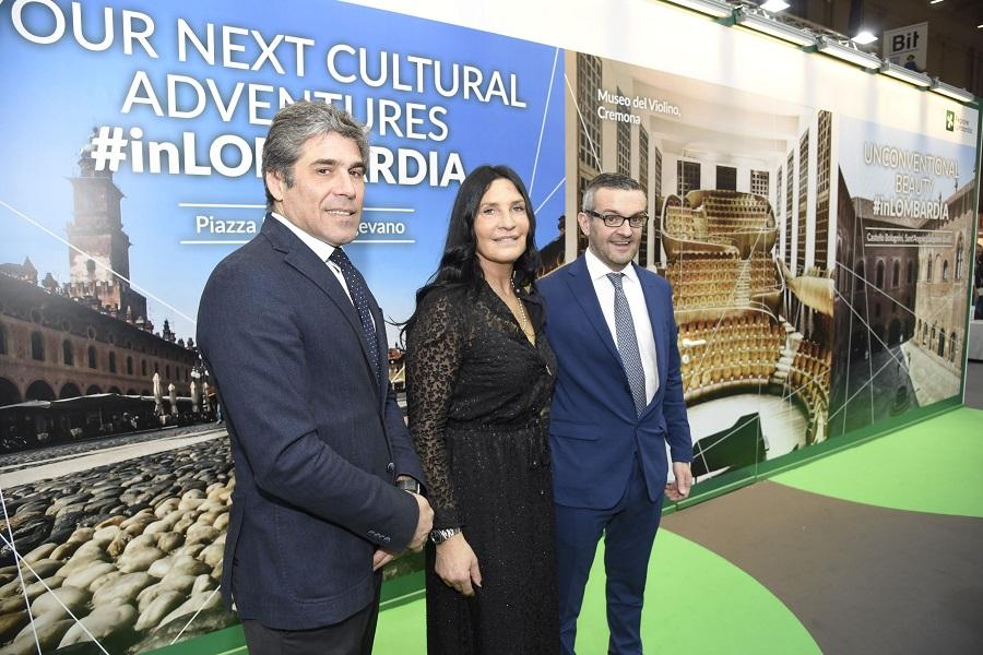 Bit 2020 inaugurato stand Regione Lombardia
