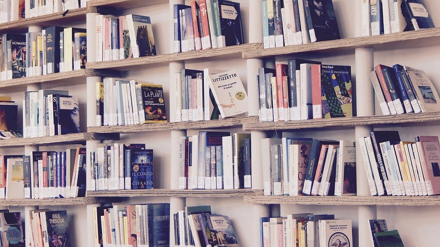 biblioteca condominiale