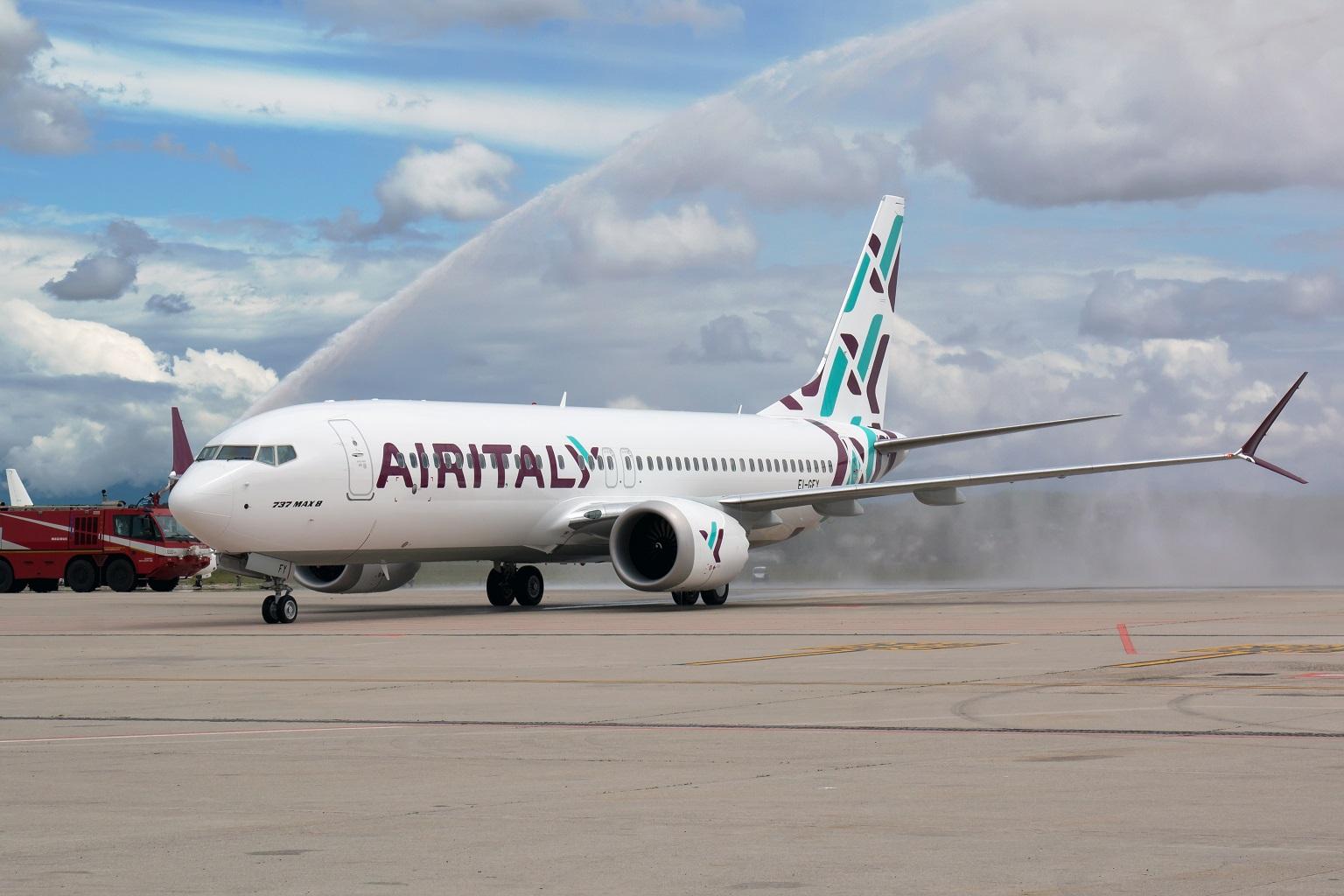 Air Italy cigs
