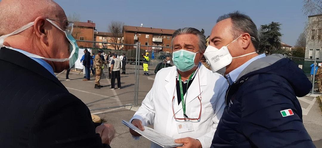 coronavirus cremona ospedale campo