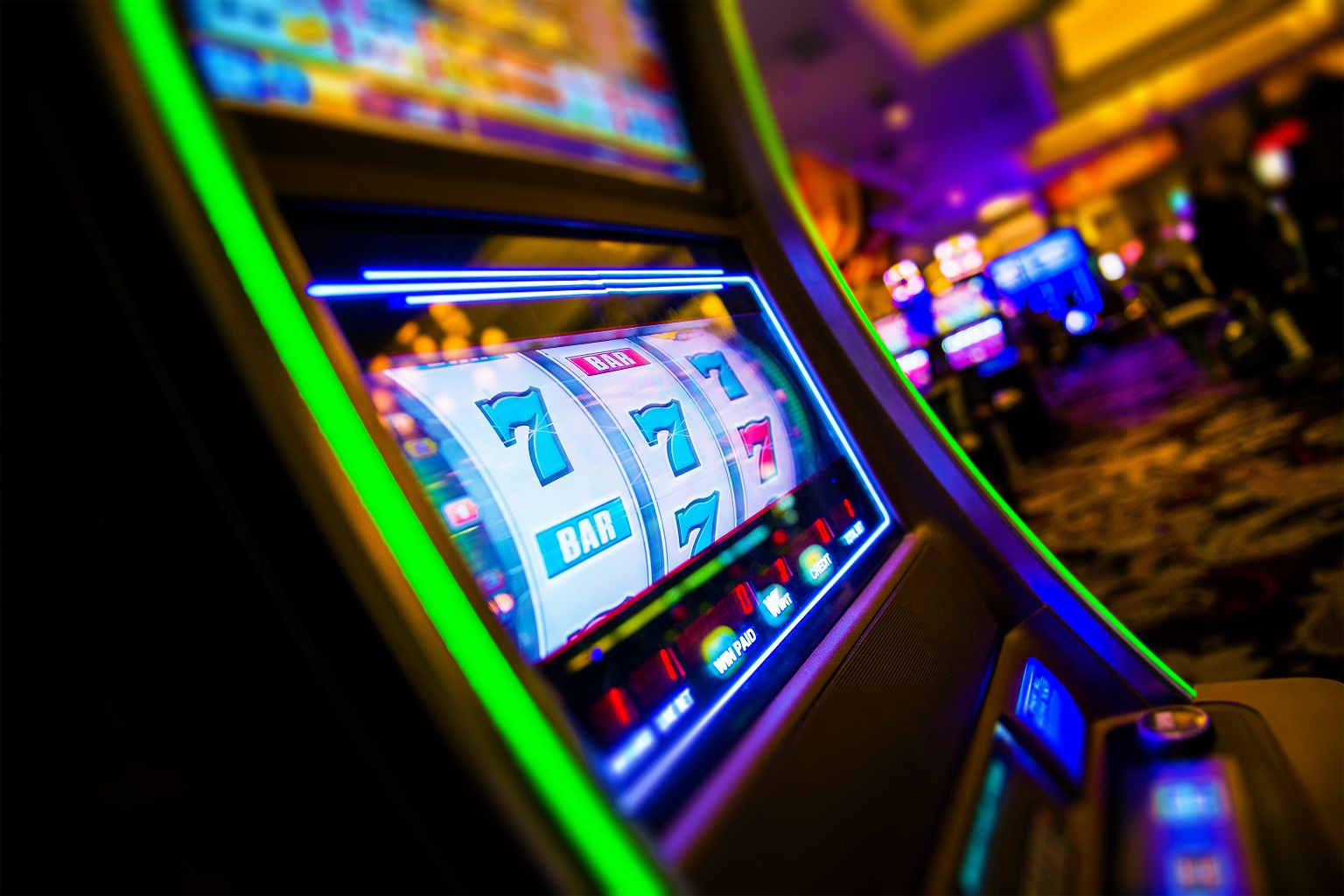 coronavirus slot machines