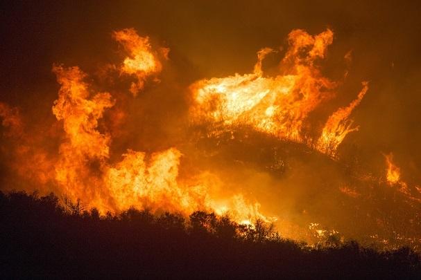incendi boschivi alto rischio