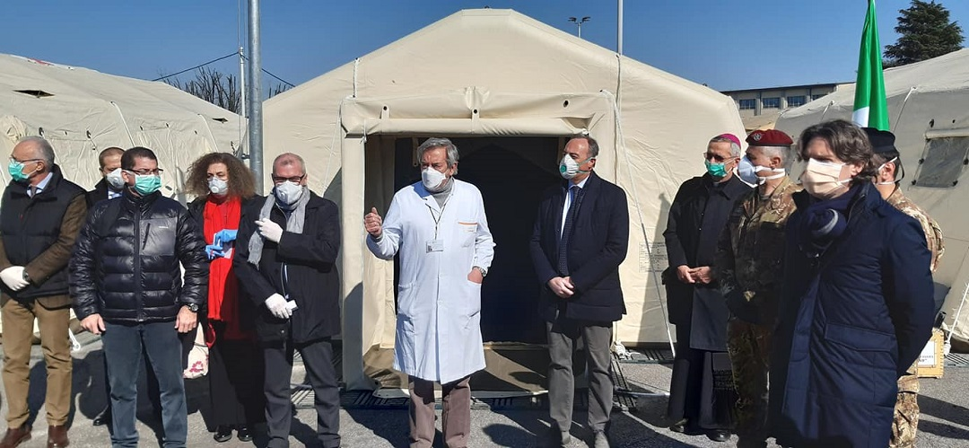 coronavirus crema nuovo ospedale