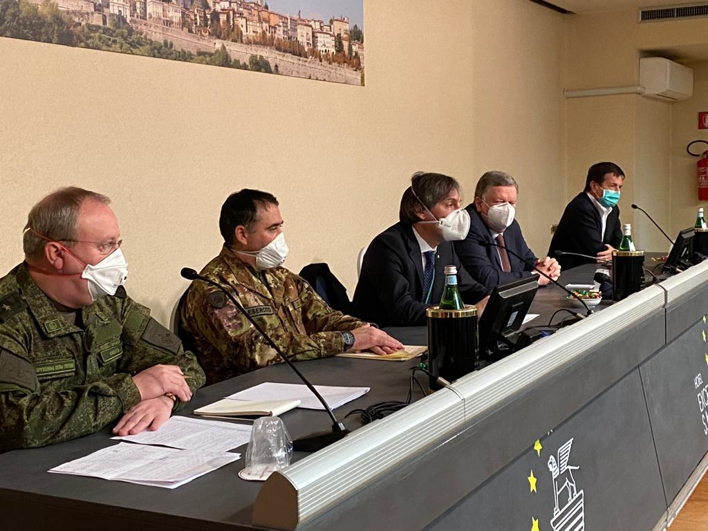 Coronavirus, medici dalla Russia