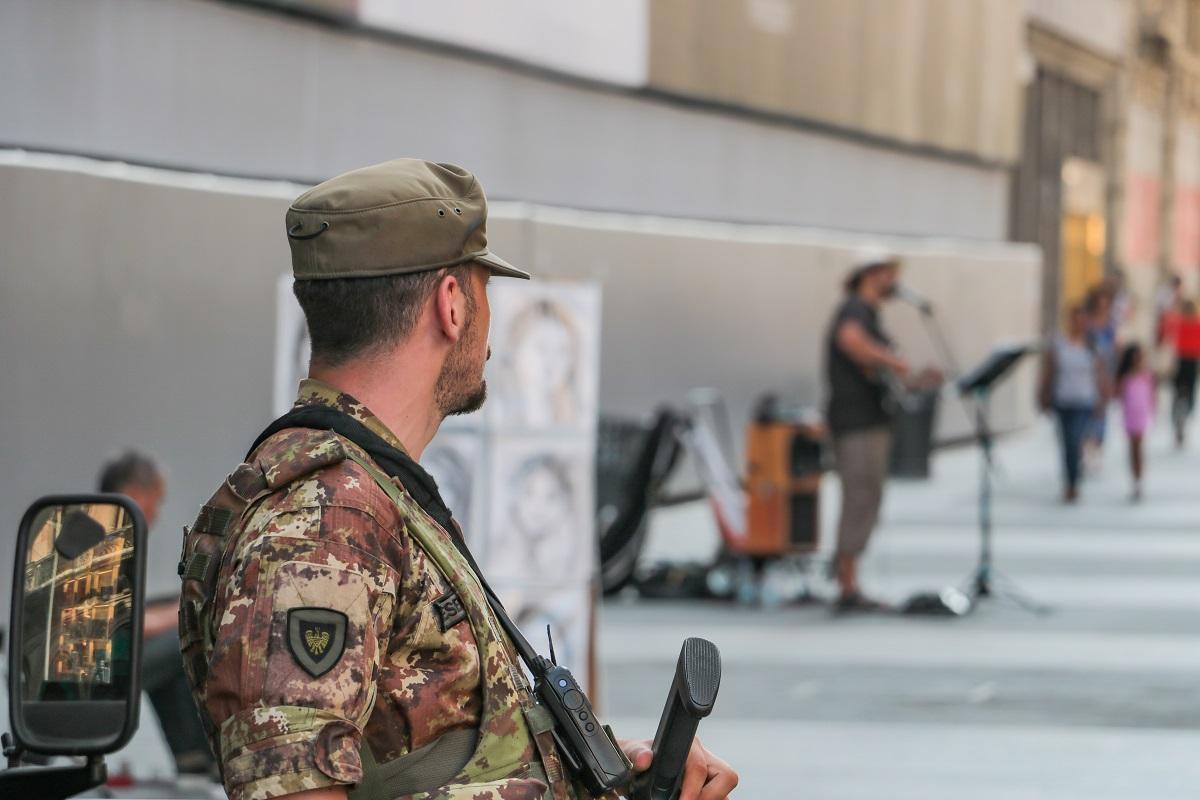 militari esercito milano