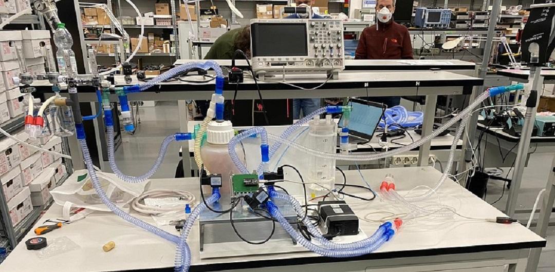 coronavirus prototipo ventilatore