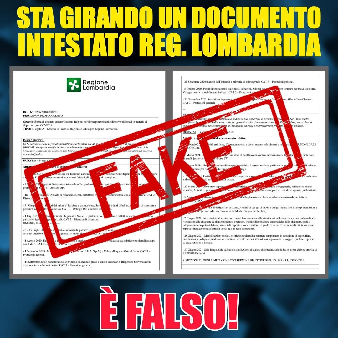 coronavirus denuncia documento Falso