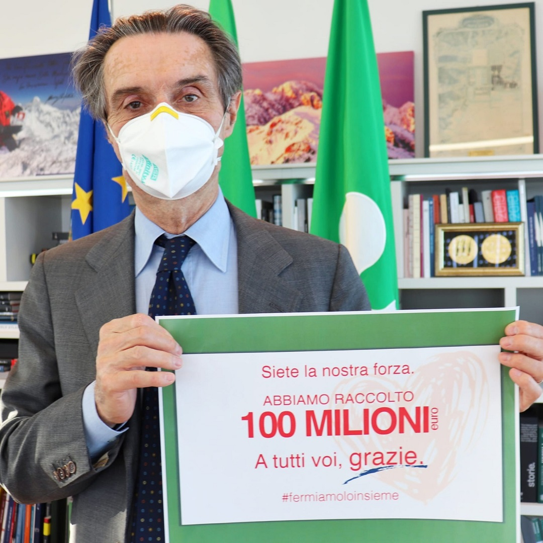 coronavirus 100 milioni grazie