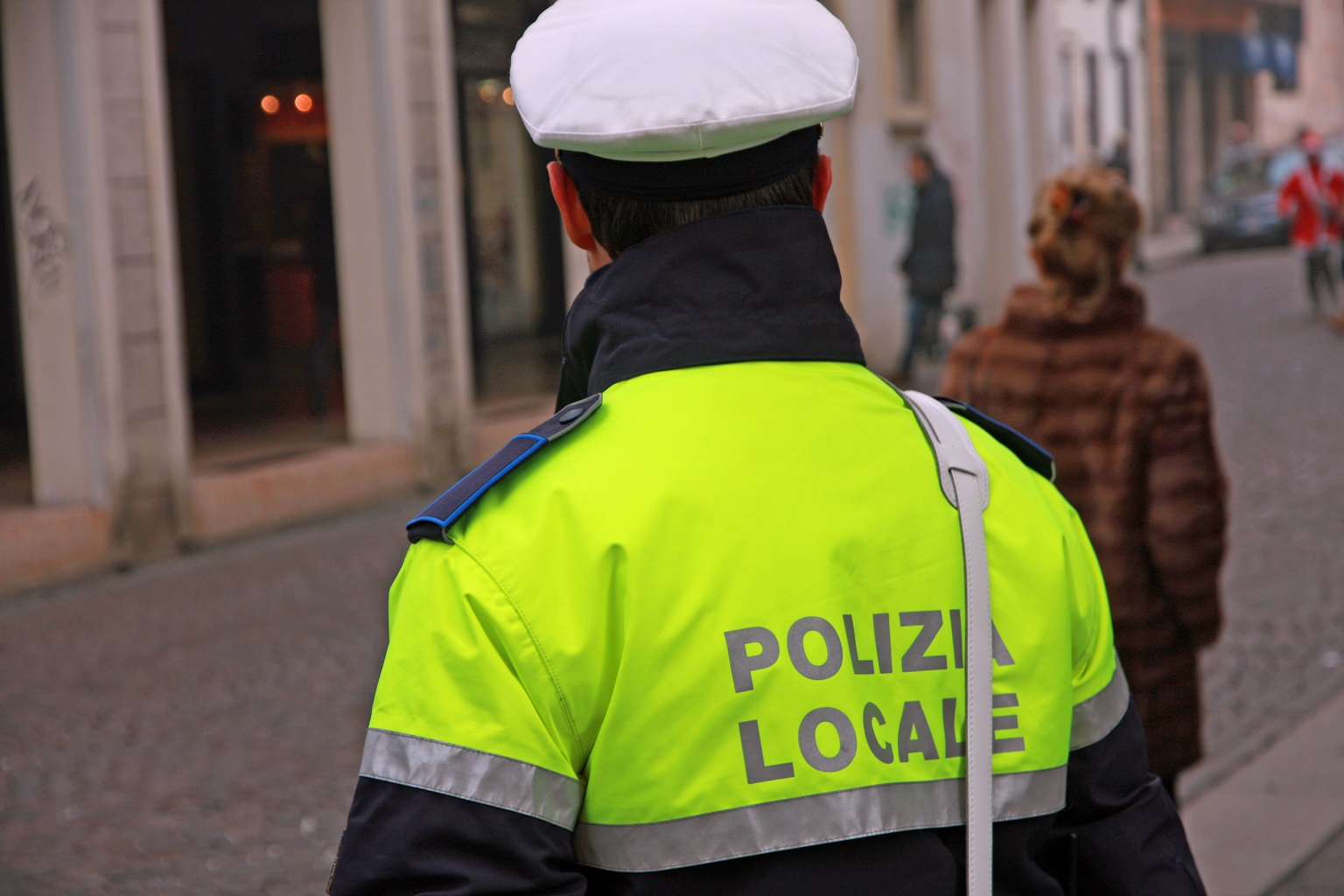 polizia locale sniffer palmari