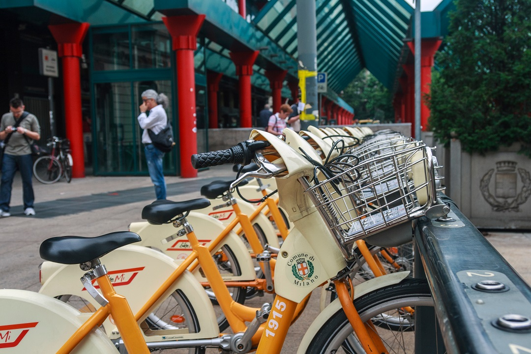 coronavirus bike sharing milano