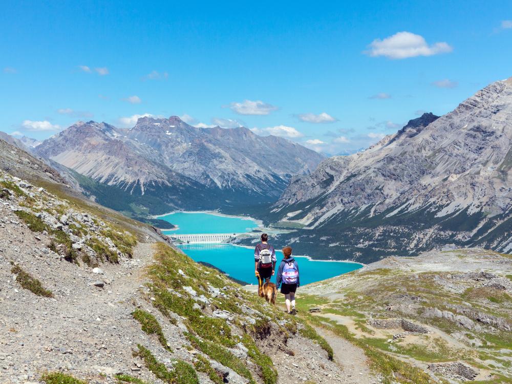 montagna escursioni gratuite