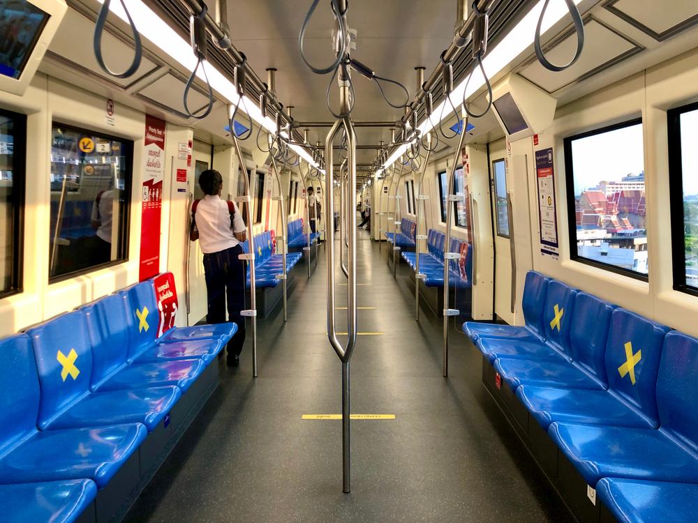 Distanziamento mezzi pubblici