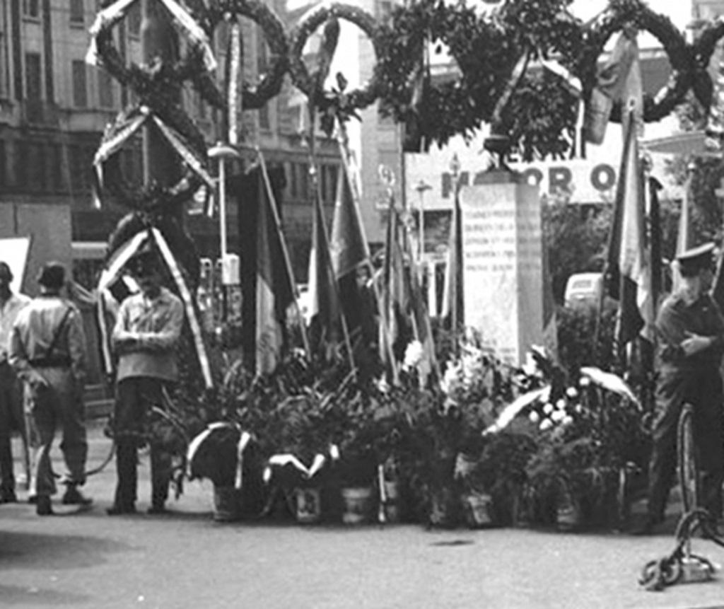 Piazzale Loreto commemorazione eccidio