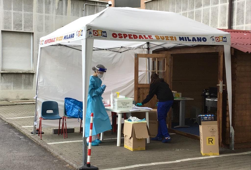 Rinnovato Pronto Soccorso Pediatrico al Buzzi di Milano-1