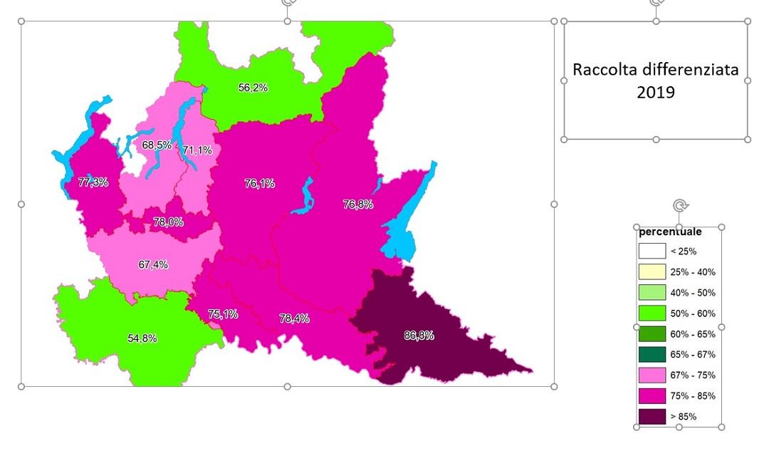 Cartina Lombardia Pavia.La Provincia Di Pavia Ultima In Regione Per Raccolta Differenziata I Dati Prima Pavia