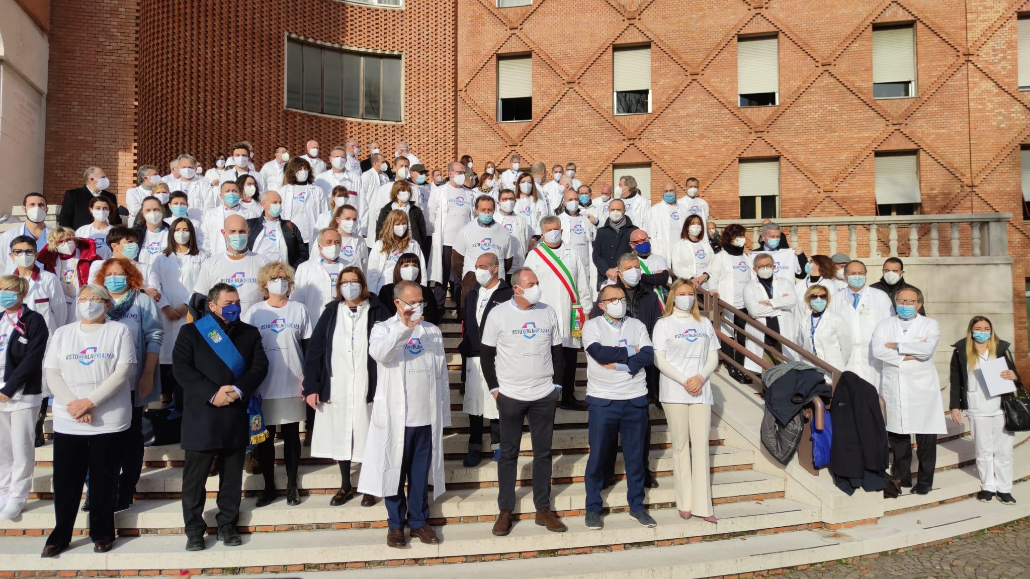 Vaccination day Brescia, vaccinazioni anti-Covid agli Spedali Civili