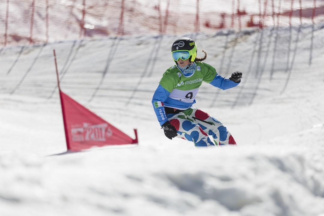 Snowboard cross Michela Moioli