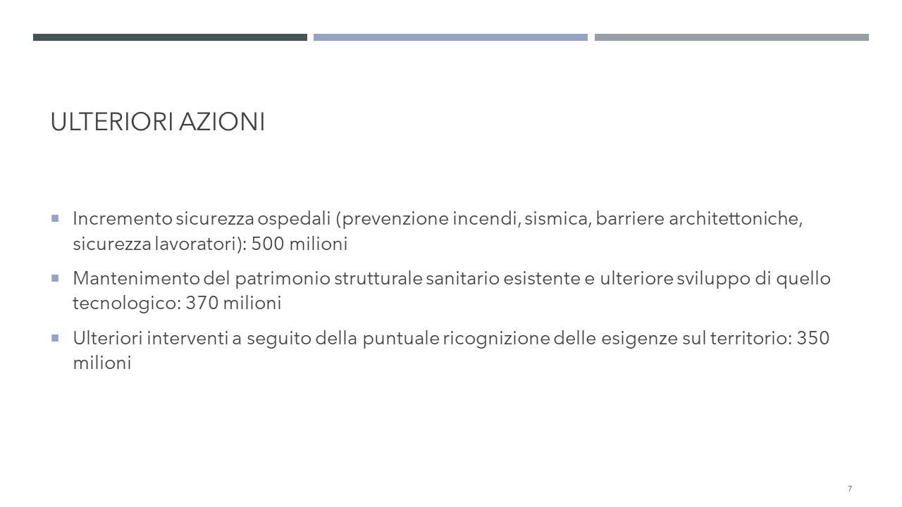 welfare 4 miliardi di investimento