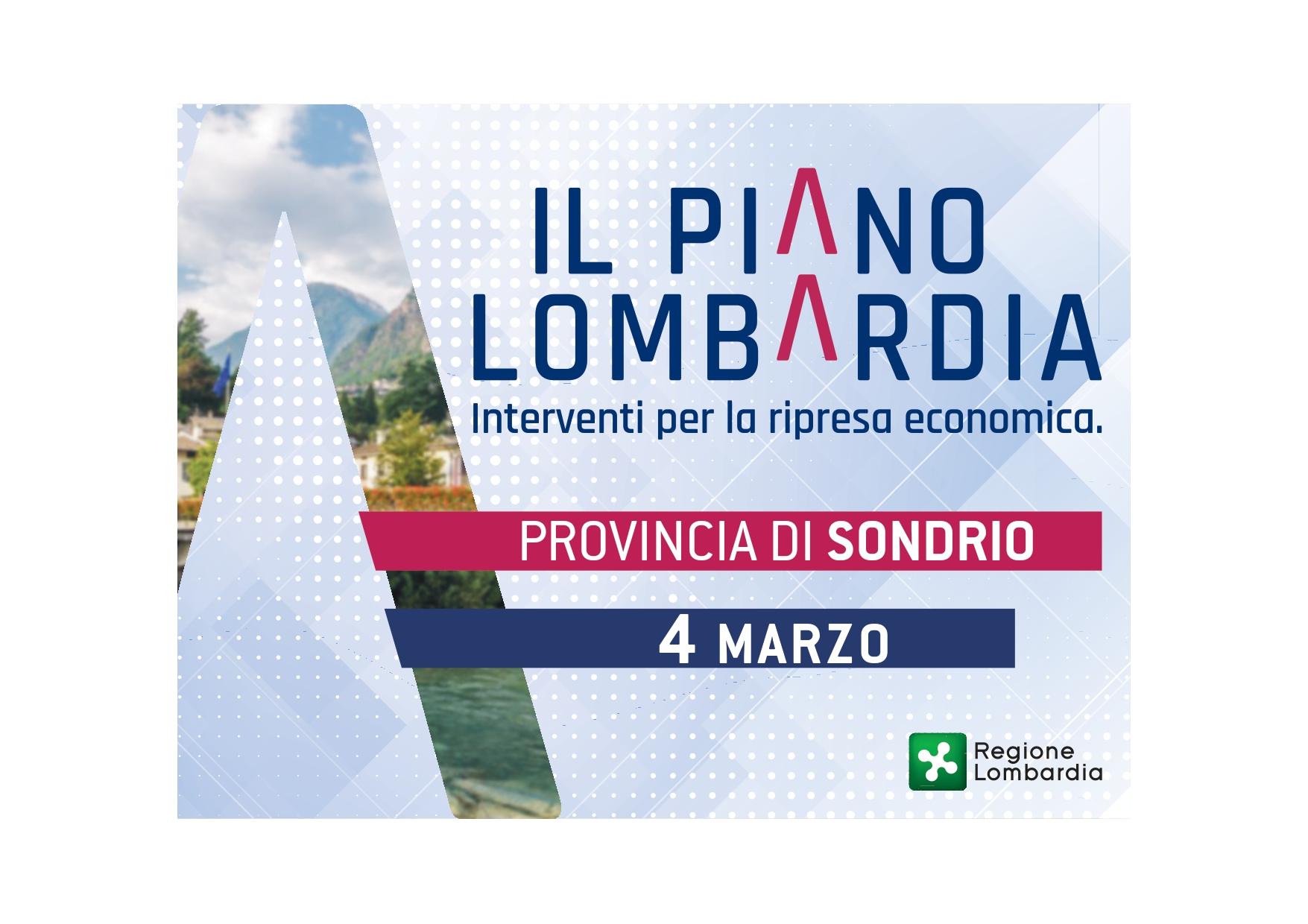 Piano Lombardia Sondrio
