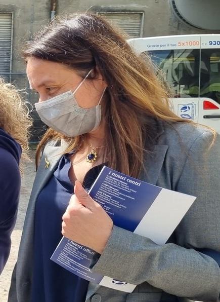 L'assessore Alessandra Locatelli