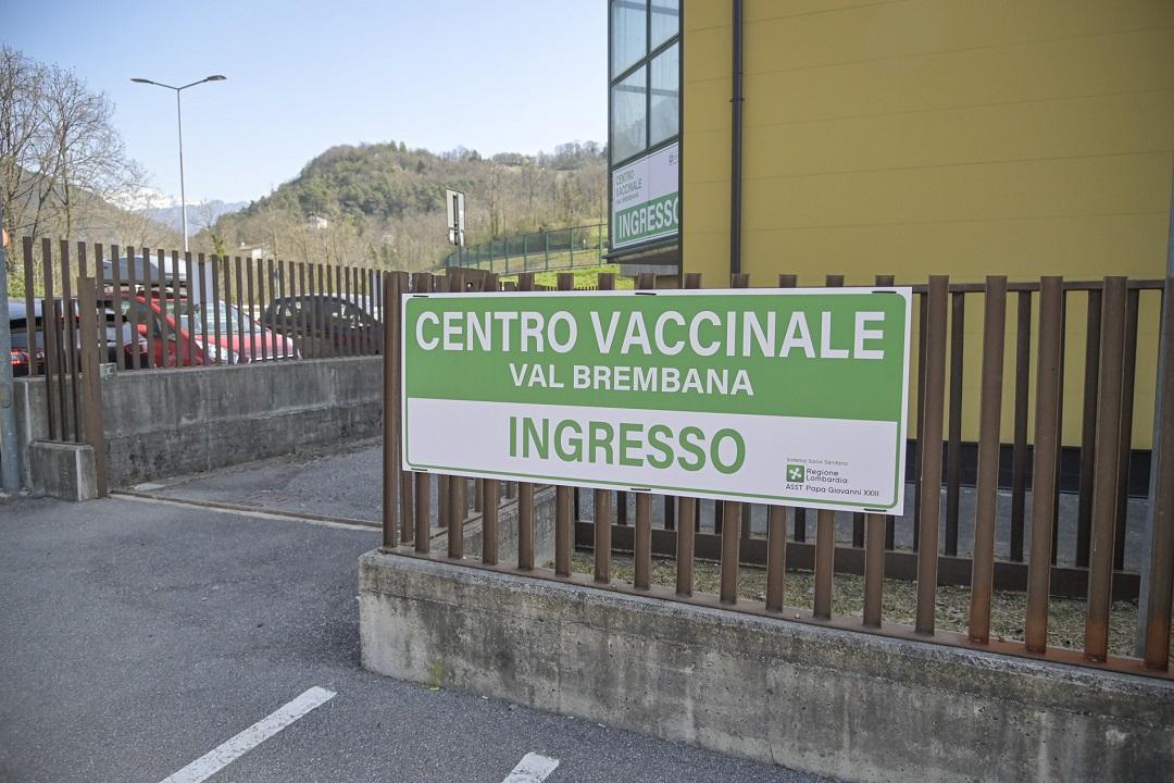hub vaccinale bergamasca