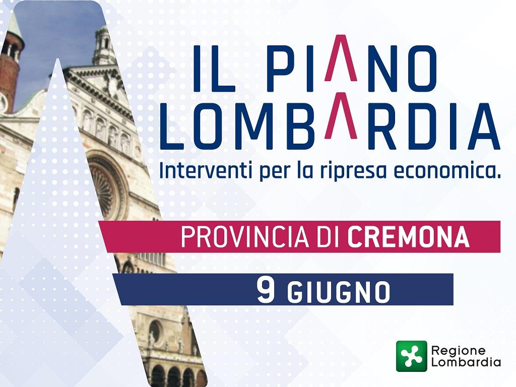 Cremona. Piano Lombardia: 185 milioni per il territorio
