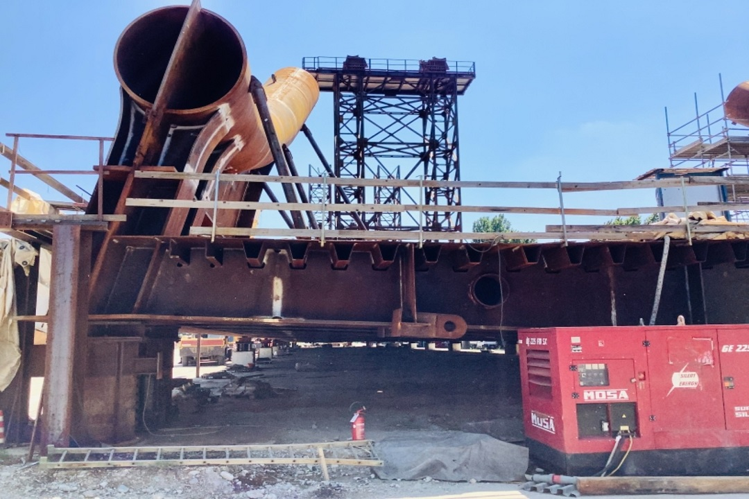 ponte cantiere