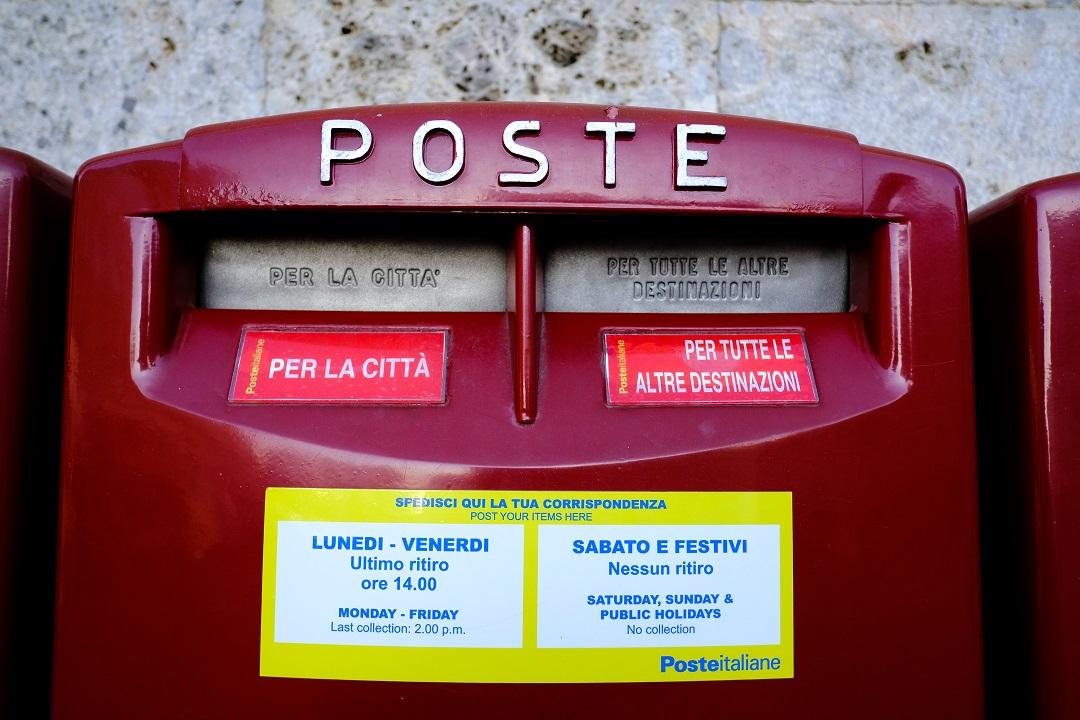 poste italiane sondrio