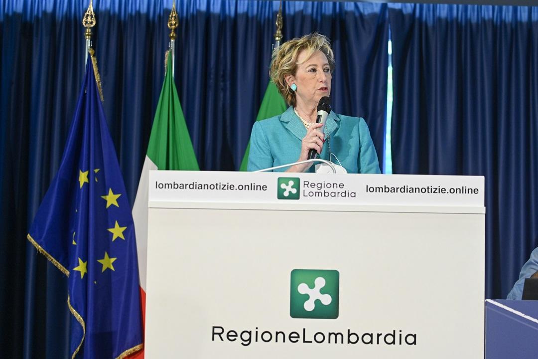 Letizia Moratti, campagna vaccinale Lombardia