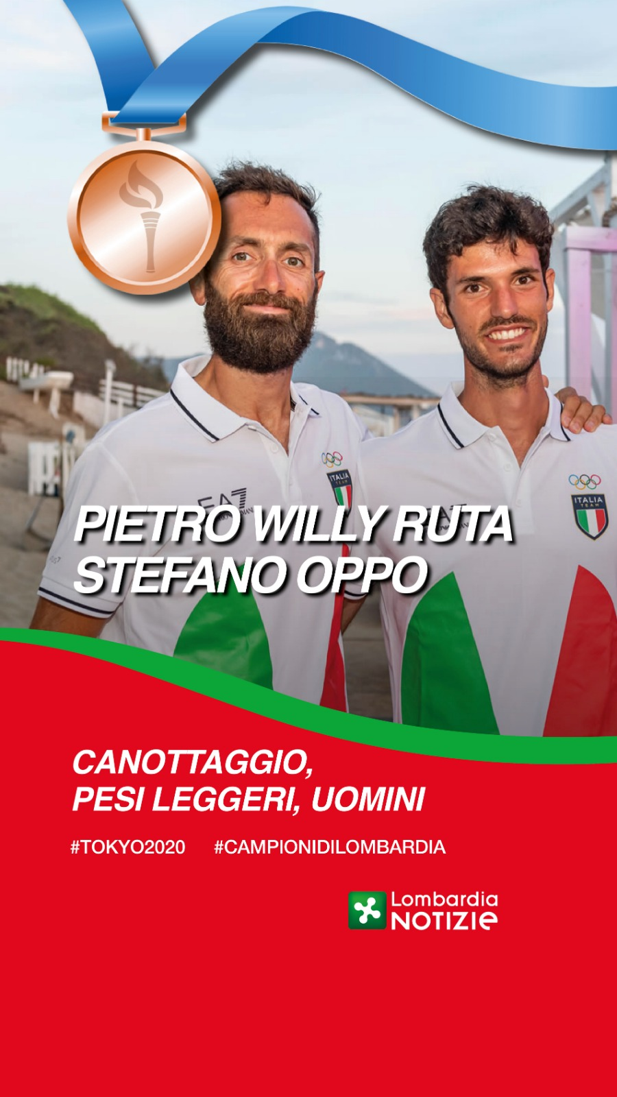 Tokyo 2020: Bronzo Pietro Willy Ruta e  Stefano Oppo