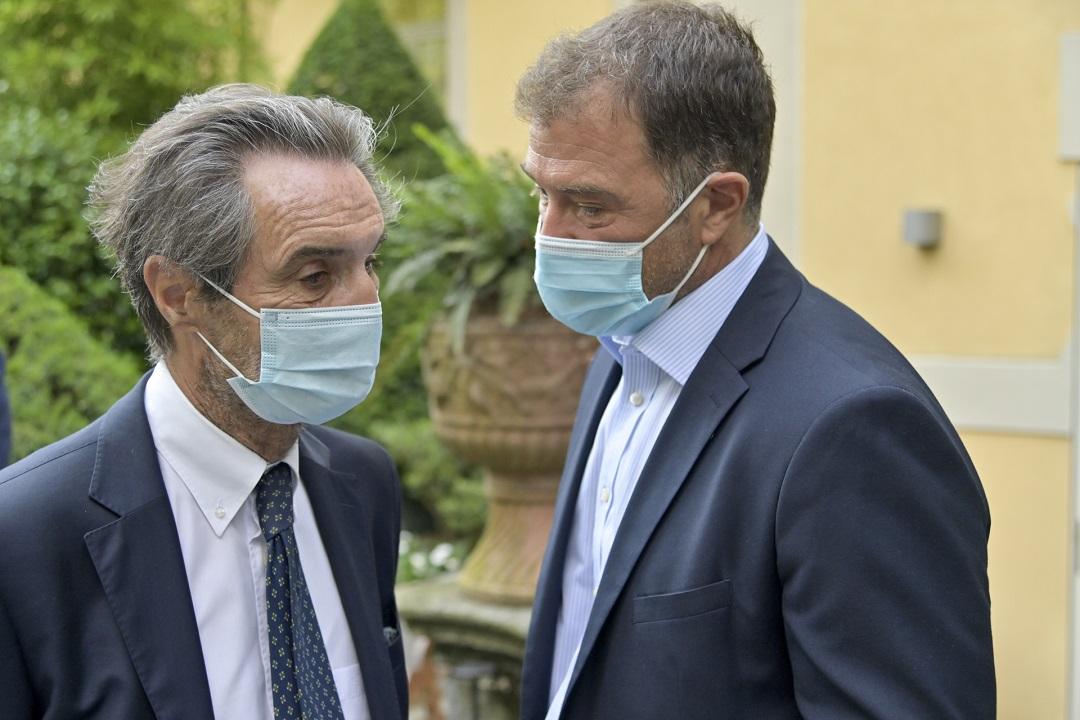 Presidente Fontana rassicura su salute Antonio Rossi dopo intervento