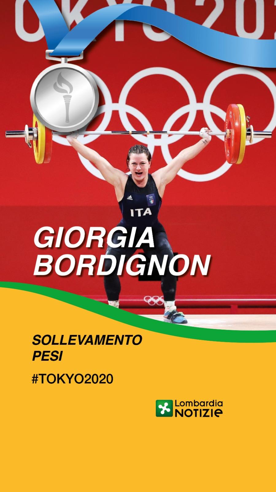 Tokyo 2020: Argento sollevamento pesi – Giorgia Bordignon
